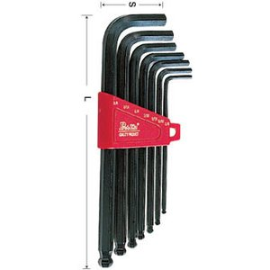 Ball-Point Hex Key Set Pro'sKit 8PK-025