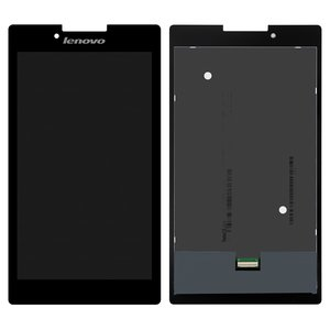 LCD for Lenovo Tab 2 A7-30, Tab 2 A7-30DC, Tab 2 A7-30F Tablets, (black, with touchscreen) #P070ACB-DB1 REV.A3