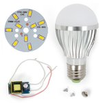 LED Light Bulb DIY Kit SQ-Q02 5730 5 W (warm white, E27)