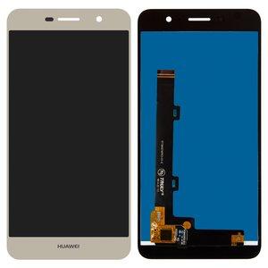 LCD Huawei Enjoy 5, Y6 Pro, (golden, with touchscreen, Logo Huawei, Original (PRC), TIT-AL00/TIT-U02)