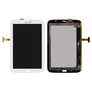 Pantalla LCD para tablet PC Samsung N5100 Galaxy Note 8.0 , N5110 Galaxy Note 8.0 , versión 3G, blanco, con cristal táctil
