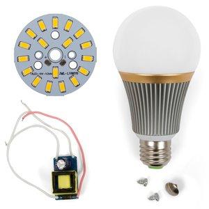 Комплект для сборки светодиодной лампы SQ-Q23 9 Вт (теплый белый, E27)