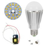 Комплект для сборки лампы, SQ-Q17, 9 Вт (теплый белый, E27), диммируемый