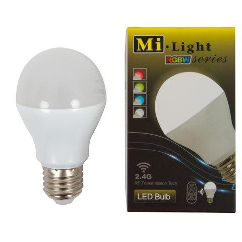 Світлодіодна лампочка MiLight RGBW 6W E27 WW теплий білий