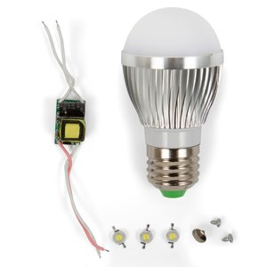 Комплект для збирання світлодіодної лампи SQ-Q01 3 Вт (природний білий, E27)