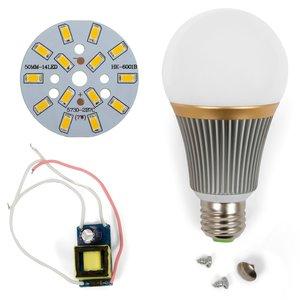 Комплект для збирання LED-лампи SQ-Q23 5730 E27 7 Вт – теплий білий