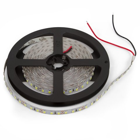 Світлодіодна стрічка SMD2835 над'яскрава, монохромна, холодний білий, 120 світлодіодів м, 1 м, IP20