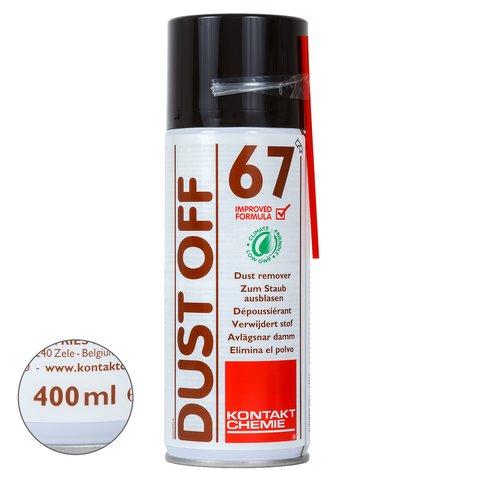 Сжатый воздух с эффектом заморозки Kontakt Chemie DUST OFF 67 (400 мл)