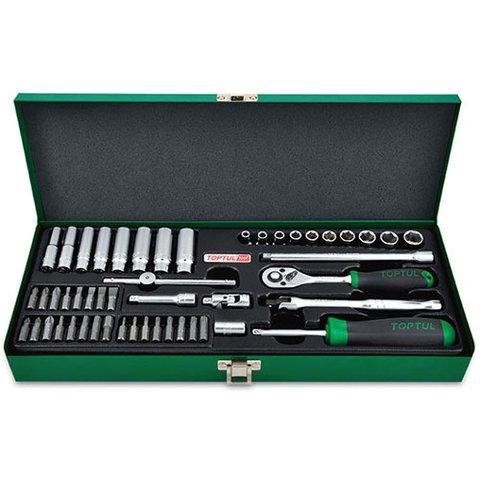 Набір інструментів у кейсі TOPTUL GCAD5004