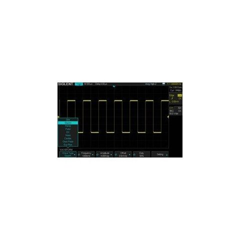 Waveform Generator Option SIGLENT SDS2000X-E-FG (Activation Key) for SIGLENT SDS2202X-E, SDS2352X-E