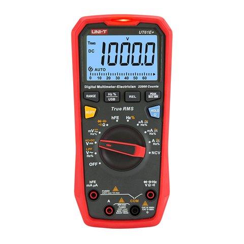 Digital Multimeter UNI T UT61E+
